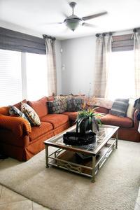 Quelles couleurs de peinture vont avec planchers de bois sombres dans une salle de séjour ?