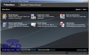 Comment utiliser le Blackberry Desktop Manager