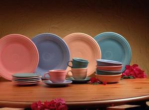 Idées de combinaison Fiesta vaisselle couleur