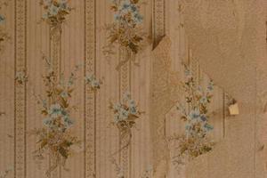 Comment d coller du vieux papier peint des murs - Comment decoller du papier peint ...