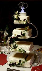 Idées pour gâteaux de mariage multi-niveaux