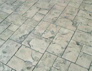 Comment estampiller un plancher de béton existant