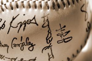Comment supprimer une Inscription d'un autographe