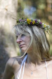 Comment faire une couronne florale Couronne