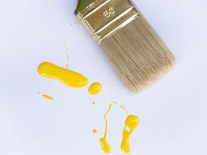 Id es de d coration pour les murs jaunes - Decoration pour les murs ...