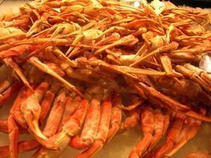 Comment faire pour four cuisson King crabe jambes