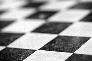Comment faire un motif trois couleur échecs avec carrelage