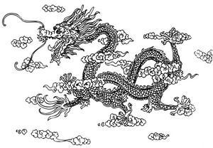 Dessiner un dragon tape par tape - Comment dessiner un dragon chinois ...