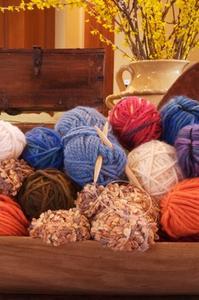 Comment faire des fleurs sur un métier à tricoter ronde
