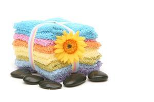 Fantaisie façons d'afficher les serviettes dans les salles de bains Hotel