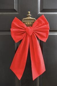 Comment faire un noeud de tissu pour le dessus de votre arbre de Noël