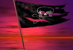 Comment faire pour aérographe un drapeau de Pirate