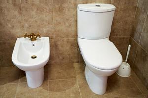Étiquette de couvercle de toilette