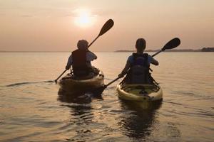 Comment pagayer un Kayak avec une pagaie bateau