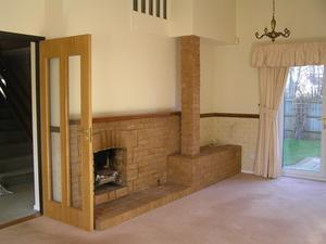 Idées pour la peinture d'intérieur pour une maison de brique
