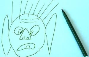 Comment dessiner un visage humain Simple