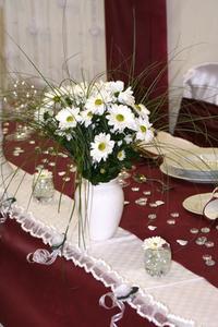 Idées de décoration de mariage dîner Table