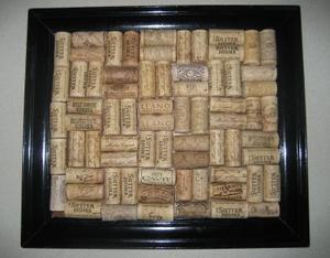 Comment faire une planche de Liège des bouchons de vin