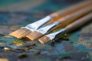 Comment peindre un tableau acrylique