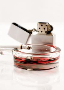 Comparaison des poumons sains & malsain
