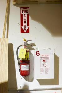 Composition chimique des extincteurs d'incendie