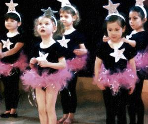 Une liste des chansons de danse pour les petits enfants