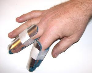 Exercices pour un doigt disloqué