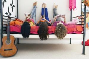 Idées de régime de couleur de peinture pour une chambre d'adolescent