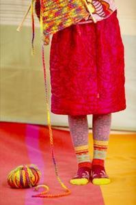 Comment tricoter des pantoufles scandinaves Boot