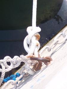 Comment connecter une corde à la chaîne