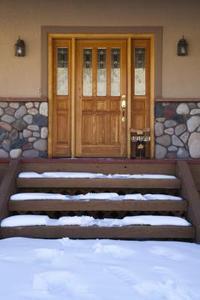 Idées d'aménagement paysager pour une entrée de porte avant