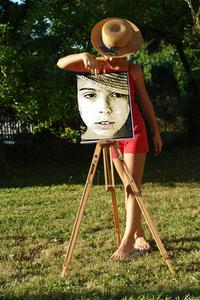 Comment faire un cadre Photo pour une toile de l'artiste