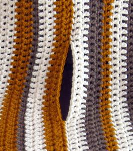 Crochet Poncho Instructions