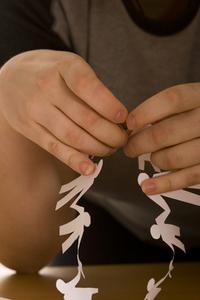 Comment faire des chaînes d'ange de papier