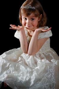 Coiffures de mariage pour les enfants