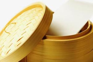 Instructions de cuiseur vapeur en bambou