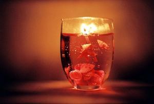 Craft Ideas de bougie à l'aide de bonbons & en pots de verre
