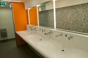 Exigences de l'ADA salle de bain lavabo hauteur