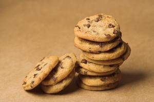 La façon de remplacer Baker de chocolat avec pépites de chocolat