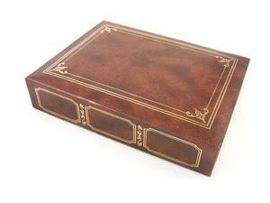 Comment embosser or sur livres en cuir