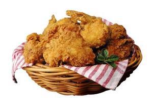 Comment faire de poulet frit au four