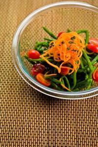 Idées de décoration pour les salades vertes