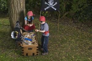 Décorations d'Halloween de Pirate fait maison