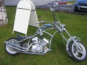 Quel équipement est nécessaire pour construire un Chopper ?