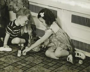 Vêtements d'hiver pour garçons dans les années 1940