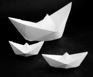 Comment faire un jouet papier voilier qui flotte