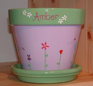 Id es pour peindre des pots de fleurs - Peindre des pots de fleurs en plastique ...