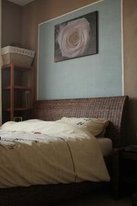 Idées pour une chambre verte & brune