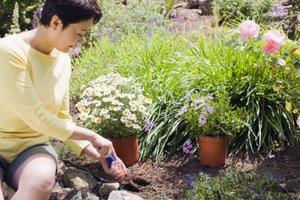 comment utiliser le tissu de bloc de mauvaises herbes dans un jardin. Black Bedroom Furniture Sets. Home Design Ideas