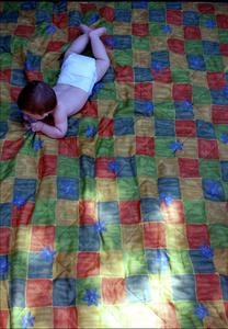 Comment faire un patchwork quilt pour bébé